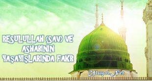 Resulullah (sav) Ve Ashabının Yaşayışlarında Fakr